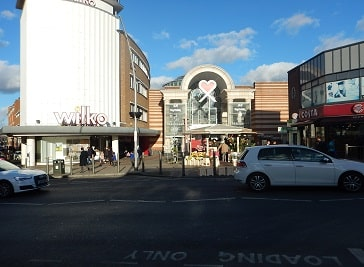 Exchange Shopping Centre in Ilford