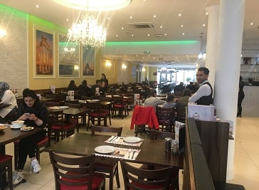 Wazir Restaurant in Ilford